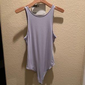 Lavender Bodysuit by Pink